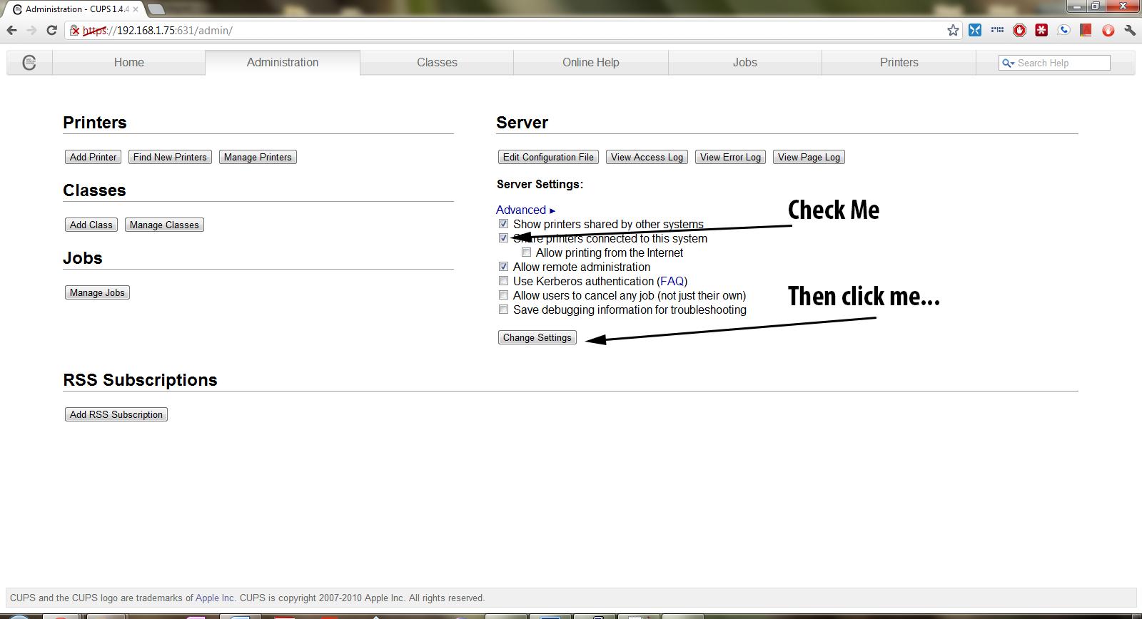 Configuring the Raspberry Pi as an AirPrint Server | Rohan